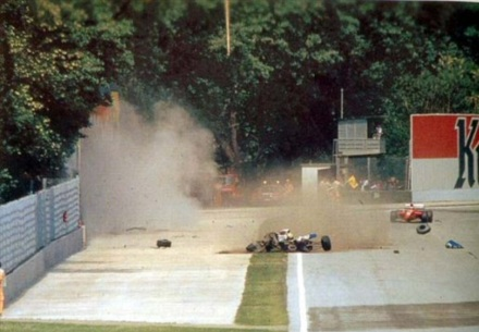 Senna Crash Site Imola.